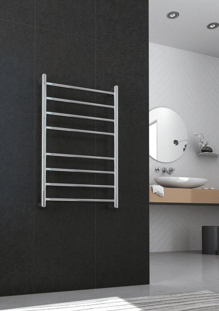 Thermorail Heated Towel Rail | Electric Towel Warmer | Towel rail in bathroom | RSL24C | towel rail Australia