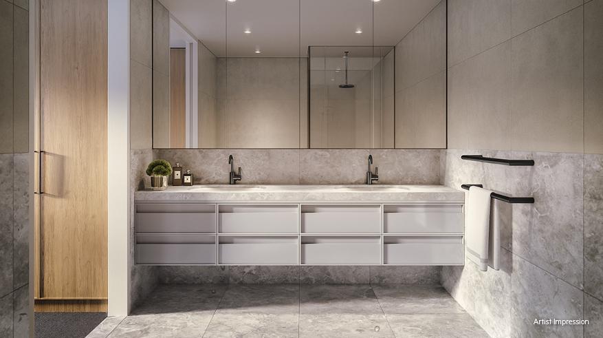 Thermorail Heated Towel Rail | Electric Towel Warmer | Towel rail in bathroom | DSR6B | towel rail Australia | Single  Heated Towel Rails